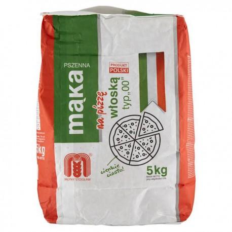 Mąka pszenna na pizzę włoską typ 00 Młyny STOISŁAW 1 kg