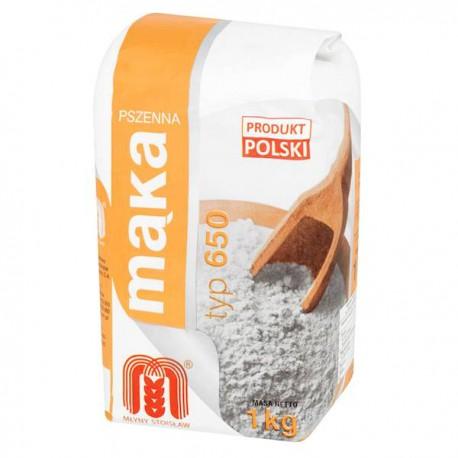 Mąka pszenna graham 650 Młyny Stoisław 1kg