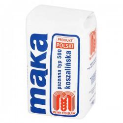 Mąka pszenna koszalińska 500 Młyny Stoisław 1kg