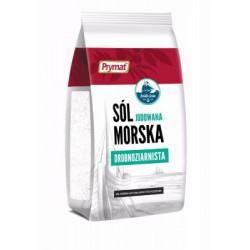 Sól morska drobnoziarnista torba PRYMAT 1 kg