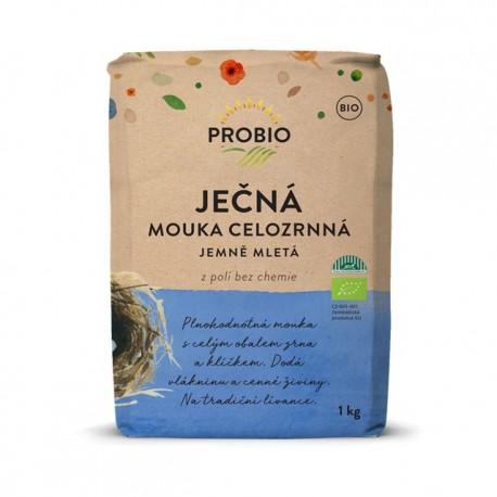 Mąka jęczmienna pełnoziarnista PROBIO 1kg