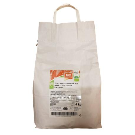 Mąka żytnia chlebowa 720 BIO PROBIO 4kg