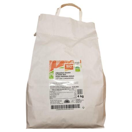 Mąka pszenna Luksusowa 550 BIO PROBIO 4kg