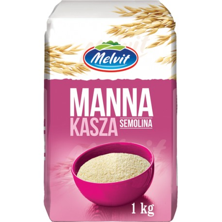 Kasza manna semolina Melvit  1kg