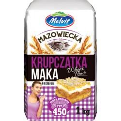 Maka mazowiecka krupczatka 450 MELVIT 1kg