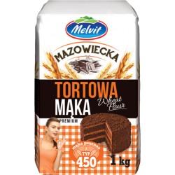 Maka mazowiecka tortowa 450 MELVIT 1kg