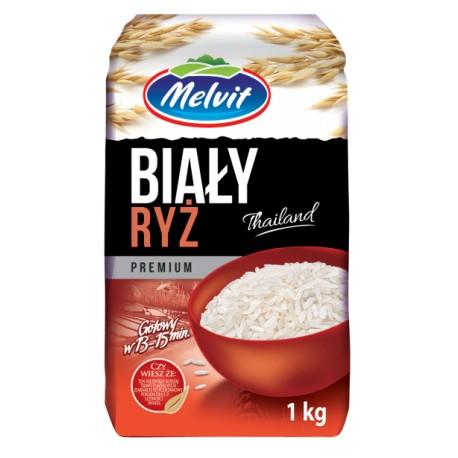 Ryż Biały Tajski MELVIT 1kg
