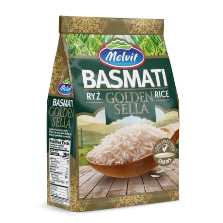 Ryż Basmati Golden Sella MELVIT 600g