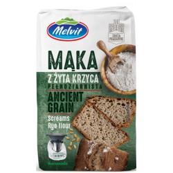 Mąka z żyta krzyca MELVIT 1kg