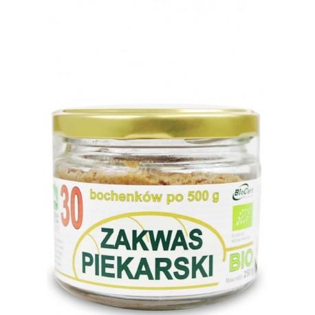 ZAKWAS PIEKARSKI BIO 250 g BIONAT 30 Bochenków