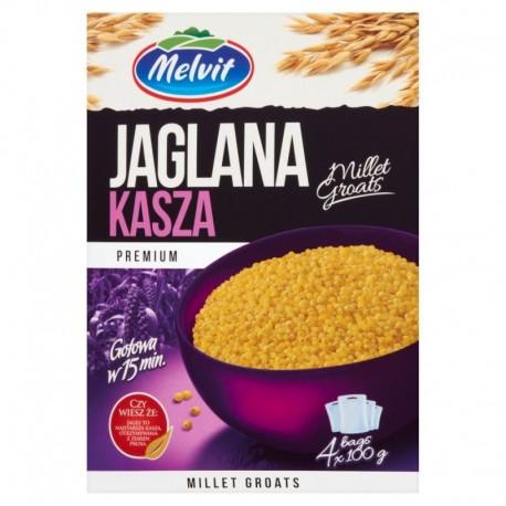 MELVIT Kasza jaglana 4x100 g