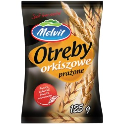 MELVIT Otręby orkiszowe prażone 125 g