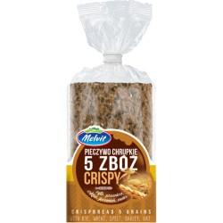 MELVIT Crispy pieczywo chrupkie 5 zbóż 130 g