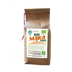 Mąka z pszenicy okrągłoziarnowej BIO 1 KG