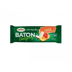 Baton daktylowy z kokosem i morelami TARGROCH  40 g