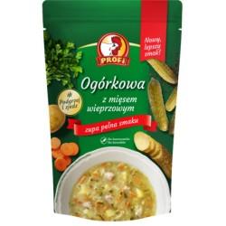 Zupa ogórkowa z mięsem wieprzowym 450g PROFI x 6 szt