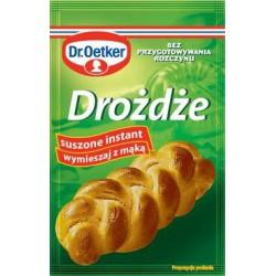 Drożdże suche instant Dr Oetker 7 g