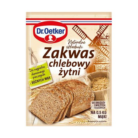 Zakwas chlebowy żytni Dr Oetker 15 g
