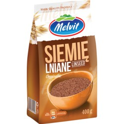Siemie lniane MELVIT 400g