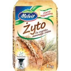 Ziarno żyta żyto MELVIT THERMOMIX 1kg