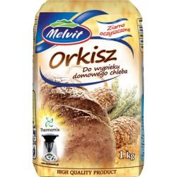 Ziarno orkisz na mąka orkiszowa MELVIT THERMOMIX 1kg