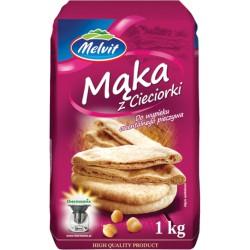 Mąka z cieciorki MELVIT 1kg