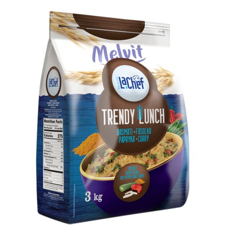 Trendy Lunch basmati, fasolka, papryka, curry 3 kg