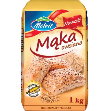 Mąka Owsiana Melvit 1kg