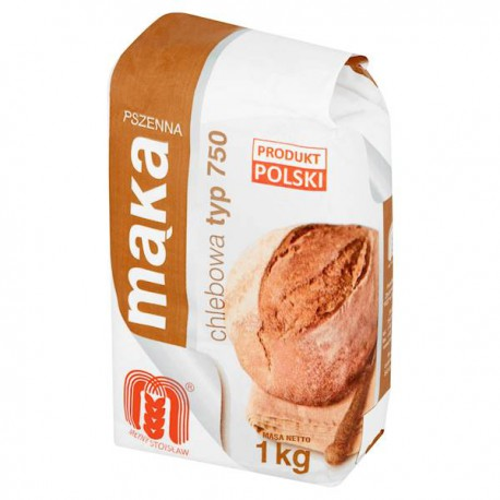 Mąka pszenna chlebowa 750 MŁYNY STOISŁAW 1kg
