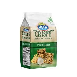 Crispy pieczywo pszenne ser cebulka MELVIT 150 g