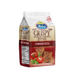 Crispy pieczywo żytnie pomidory bazylia MELVIT 150g
