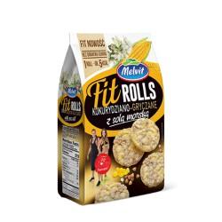FitRolls kukurydza-gryczane MELVIT 60 g