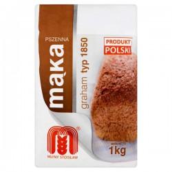 Mąka pszenna graham 1850 Młyny Stoisław 1kg
