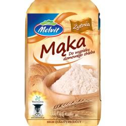 Maka żytnia do wypieku chleba T 720 MELVIT 1kg