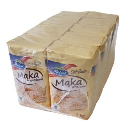 Mąka Owsiana Melvit Thermomix Wielopak 10szt 1kg