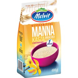 Kasza manna błyskawiczna waniliowa Melvit  400g