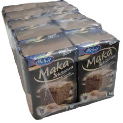 Mąka orkiszowa 1450 MELVIT THERMOMIX WIELOPAK 10szt 1kg