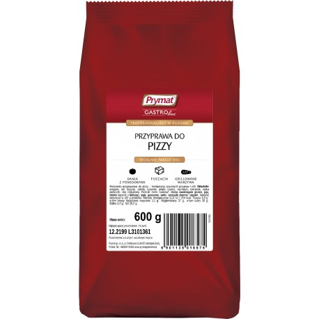 Przyprawa do pizzy PRYMAT 600g