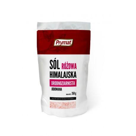 Sól różowa himalajska drobnoziarnista PRYMAT 350g