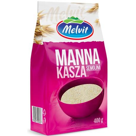 Kasza manna błyskawiczna Melvit  400g