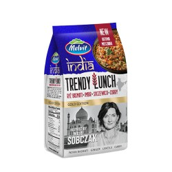 Trendy Lunch India Ryż Basmati, Imbir, Soczewica, Curry 300 g