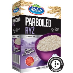 Ryż Parboiled MELVIT 4 x 100g