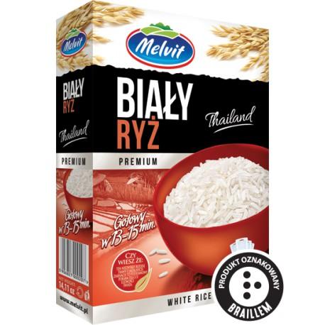 Ryż Biały MELVIT 4x100g