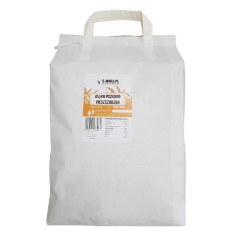 Mąka Pszenna Chlebowa 750 Bieszczadzka 5kg