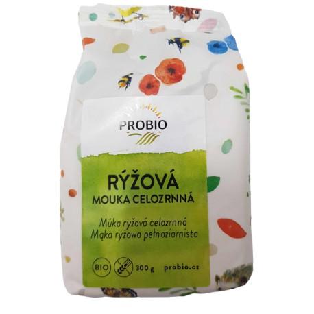 Mąka ryżowa pełnoziarnista PROBIO 300g