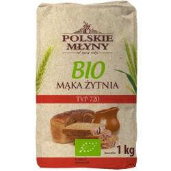 Mąka żytnia 720 BIO POLSKIE MŁYNY 1kg